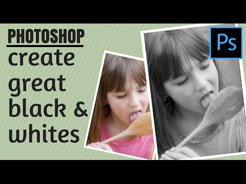 Convert Photos to Black and White in Adobe Photoshop - Get Great Custom Results