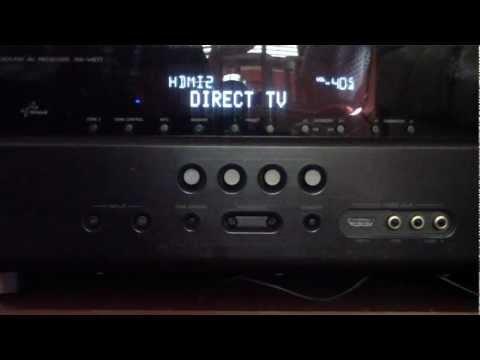 YAMAHA RX-V671 3D RECEIVER REVIEW HDMI AUDIO VIDEO PASS THROUGH ARC RETURN DIRECT TV