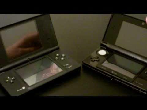 Nintendo 3DS vs. DSi Comparison (in 1080p)