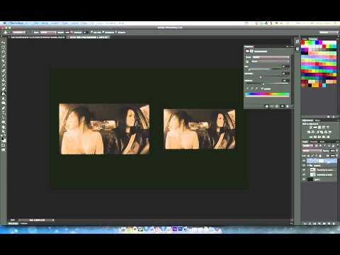 Photoshop CS6 Quicktip: How To Create Sepia (Non-Destructive Style)