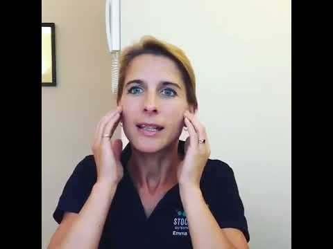 Self-release for sinus congestion and blocked ears