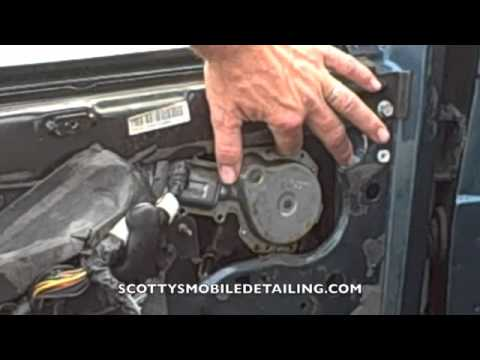 How to replace a window motor on a astrovan