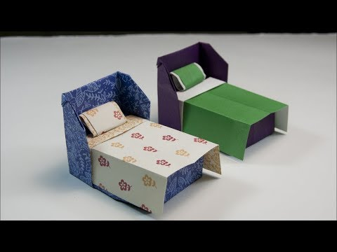 How to make a paper Bed
