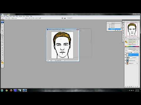 Photoshop CS3 - Tutorial Photoshop (Cartoon Effect Tutorial)