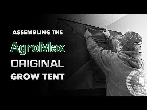 How to set up: AgroMax Original 3x3 Grow Tent