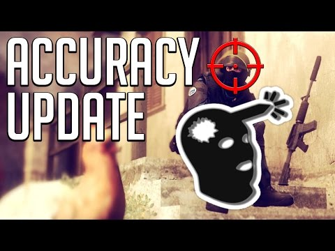 NEW CSGO Accuracy Update!!! (3rd August 2016)