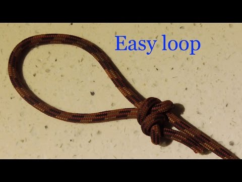 The Best Loop Knot To Tie If You Can't Tie Knots - WhyKnot