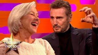 Liam Neeson Discusses His Sex Scene with Ex-Girlfriend Helen Mirren | The Graham Norton Show