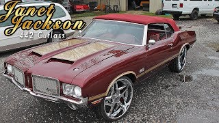 """JANET JACKSON"" 442 CUTLASS : LS SWAP, BMW INTERIOR - Built by Stitched By Slick"