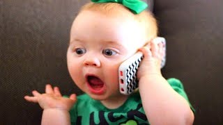 Videos graciosos de bebés 2018