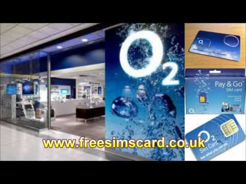 Gsm Cards_ O2 Free Sim Card, O2 Payg Free Sim With Unlimited O2 To O2 Calls And Texts