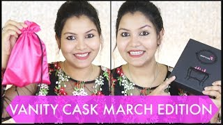 Vanity Cask March Edition with Free Thalgo products /INDIANGIRLCHANNEL TRISHA