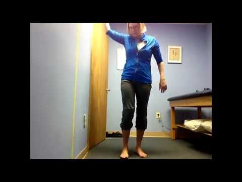 Foot mobility for a high arched foot
