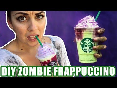 DIY Healthy Starbucks Zombie Frappuccino + Taste Test