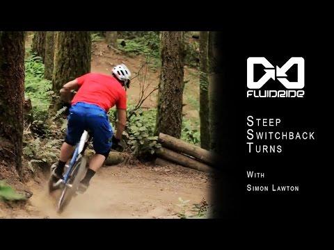 Fluidride: Steep Switchback Turns with Simon Lawton