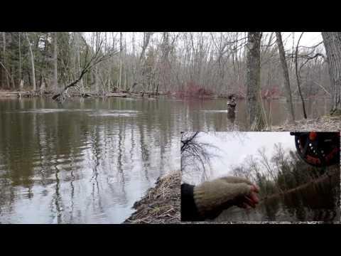 Steelhead Fishing Spring  2017 West Michigan on a Centerpin