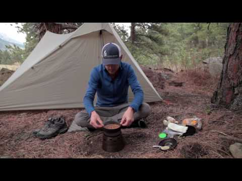 Backpacking dinner recipe: Beans & Rice with Fritos & Cheese
