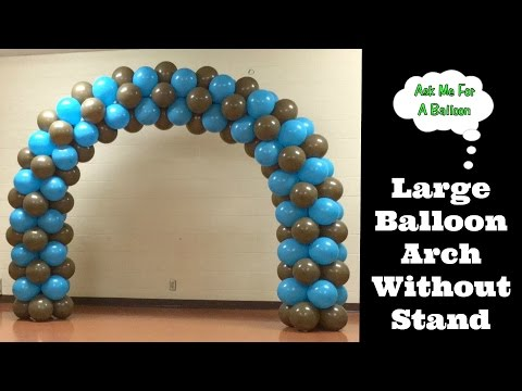 Large Balloon Arch Without Stand
