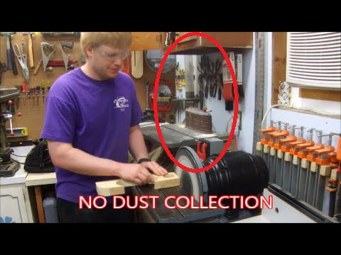 Dust Collection Funnel Adaptor for 12in Disc Sander