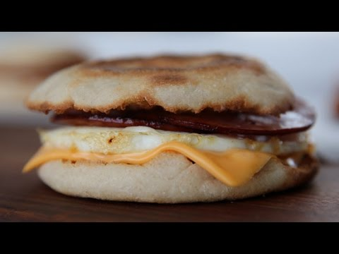 Make a Perfect Egg McMuffin at Home | Get the Dish