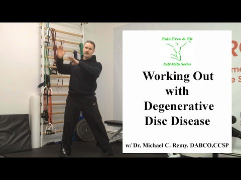 Working Out with Degenerative Disc Disease- 3 Essential Tips