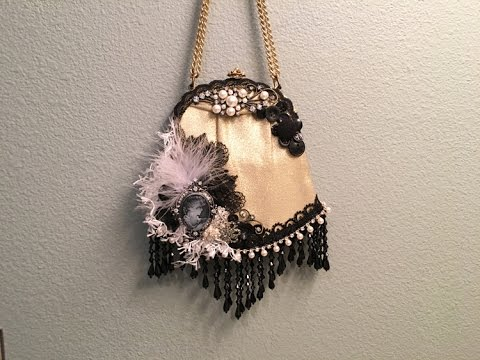 DT Project March, Altered Victorian Style Purse