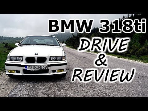 BMW 318ti - D4A drive and review