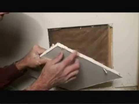 How to Repair a Large Drywall Hole Video