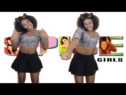 Mel B (Scary Spice) Halloween Makeup and Costume