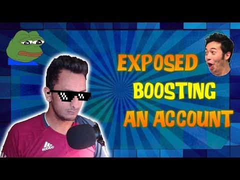 Meric Getting Exposed For Boosting Account - Reddit post React