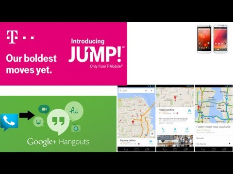 Tech News Roundup: Galaxy S4, Hangouts Voice-Only Calls, Google Maps Update, T-mobile Jump, & More!