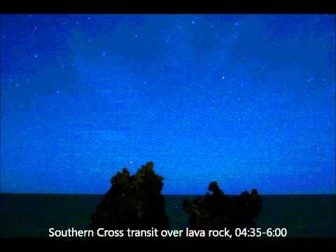 Star transits including the Southern Cross.wmv