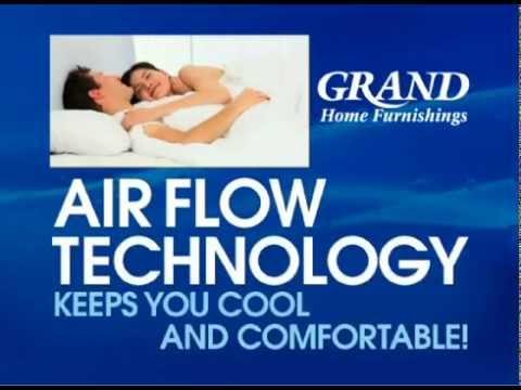 Memory foam mattress without the heat: Try our Kingsdown BluTek!