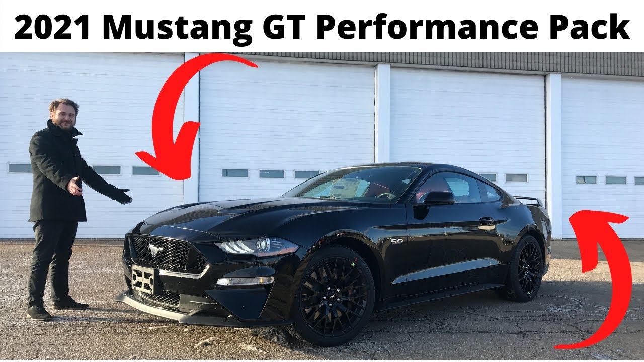 2021 Mustang GT All New! Review and Walk Around! GT Performance Pack 1