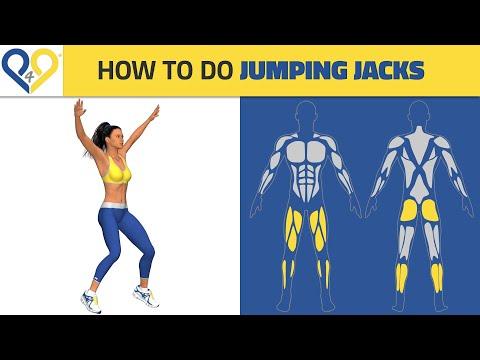 Best Cardio Exercises: Jumping Jacks
