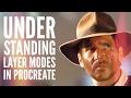 Understanding Layer Modes in Procreate