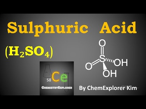 Make sulphuric acid from oxalic acid and copper(II) sulphate
