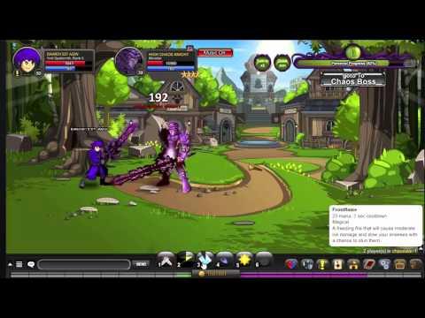 AQW [PL] #3 Troll Spellsmith vs High Chaos Knight !
