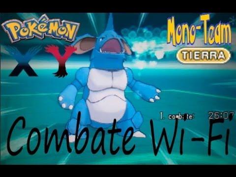 Pokémon X/Y Combate Wi-Fi #MonoTeam TIERRA: Nidoking el rey del combate!