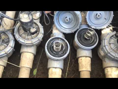 How to Fix Irrigation Problem When a Sprinkler Line Won't Shut Off!