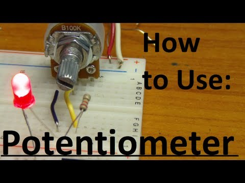5imple Circuits: How to use a Potentiometer