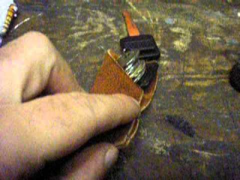 diy motorcycle key protector / car key holder