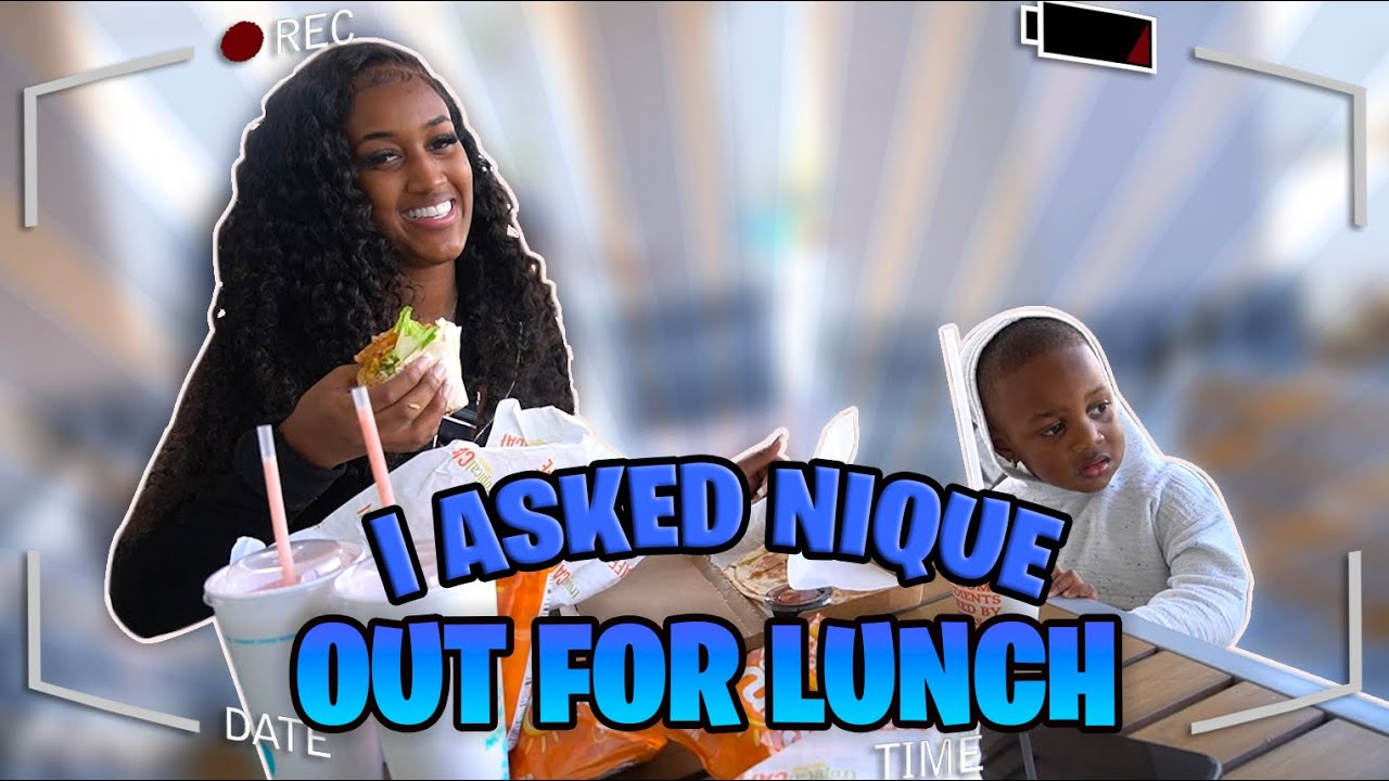 I ASKED NIQUE OUT FOR LUNCH...