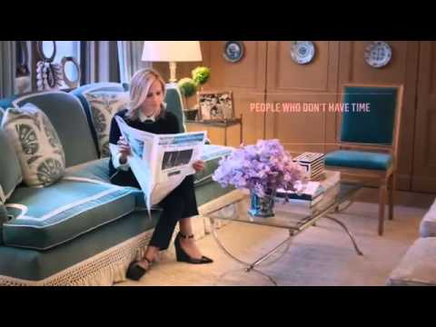 Tory Burch Makes Time to Read The Wall Street Journal