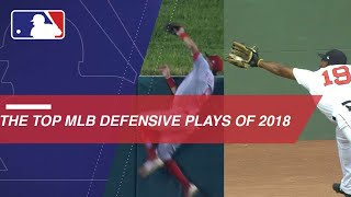 The Top Mlb Defensive Plays Of 2018