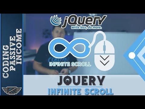 jQuery Infinite Scroll Tutorial With PHP & MySQL & Ajax (Like Facebook)