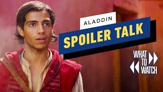 Aladdin SPOILER CAST - What To Watch #9
