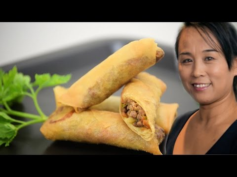 Chinese Spring Rolls (Chinese Beef Spring Rolls Recipe)