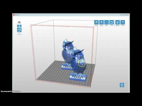 XYZWARE Software Tutorial for Da Vinci 3D Printer