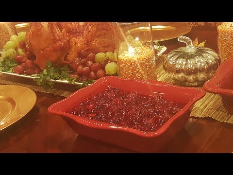 Homemade Cranberry Sauce Recipe - How to make cranberry sauce  - You will NEVER buy the can again!!